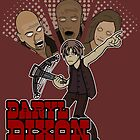 Daryl Dixon Vs. The Walkers by GrimDork