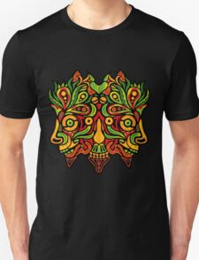 Psychedelic jungle demon Unisex T-Shirt