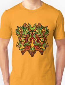 Psychedelic jungle demon Unisex T-Shirt