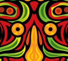 Psychedelic jungle demon Sticker