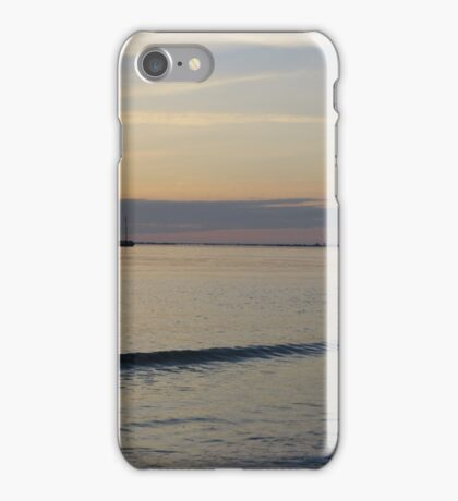 Sailboat in the Gulf of Mexico iPhone Case/Skin