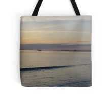 Sailboat in the Gulf of Mexico Tote Bag
