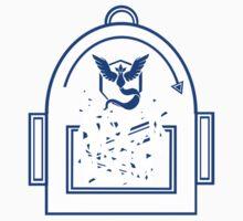 Pokemon Go backpack- Team Mystic Kids Tee