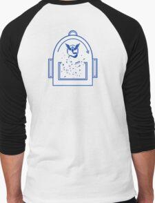 Pokemon Go backpack- Team Mystic Men's Baseball ¾ T-Shirt