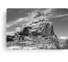 Arches National Park 8 BW Canvas Print
