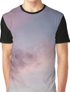 Pastel Clouds Summer Sunset  Graphic T-Shirt