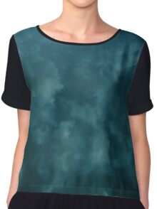 Dark and Storm Summer Night Chiffon Top