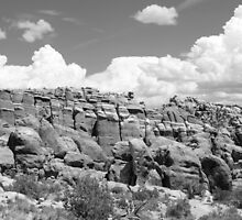 Arches National Park 13 BW by marybedy