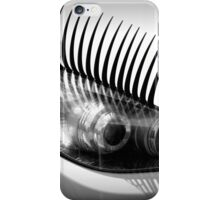 Headlight lashes iPhone Case/Skin