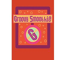 The Groovy Smoothie Photographic Print
