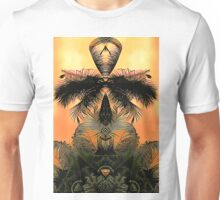 Jungles Mysticism Plays with a Palm Trees Animus Unisex T-Shirt