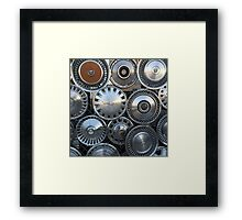 The Hub Framed Print