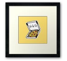 666 Pizza Framed Print