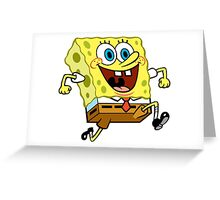 All Hail Sponge Bob Greeting Card