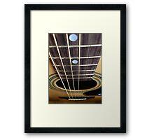 Chordless Framed Print