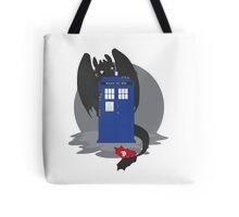 Toothless TARDIS Tote Bag