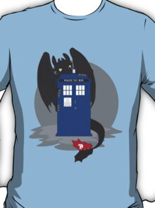 Toothless TARDIS T-Shirt