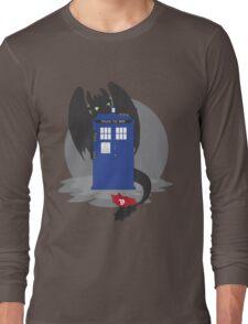 Toothless TARDIS Long Sleeve T-Shirt