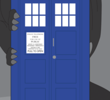 Toothless TARDIS Sticker