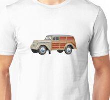 Retro woody van Unisex T-Shirt