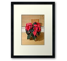 A Warm Winter Welcome Framed Print