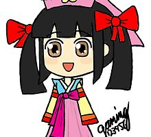 Dynasty Warriors - Da Qiao *Hanbok* by gaming123456