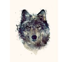 Wolf // Persevere Photographic Print