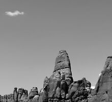 Arches National Park 17 BW by marybedy