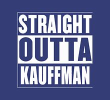 straight outta kauffman field kansas city Unisex T-Shirt