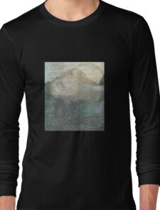 while i was talking to the flowers Long Sleeve T-Shirt
