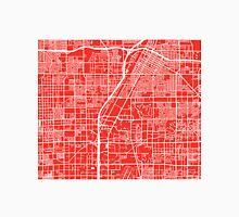 Las Vegas Map - Red Unisex T-Shirt