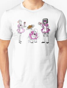 Welcome to The Crystal Gem Cafe Unisex T-Shirt
