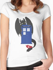 Train Your Doctor Women's Fitted Scoop T-Shirt