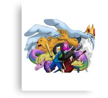 adventure time fan art Canvas Print