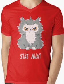 Stay Away Mens V-Neck T-Shirt
