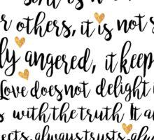 CORINTHIANS 13:4-7 Sticker