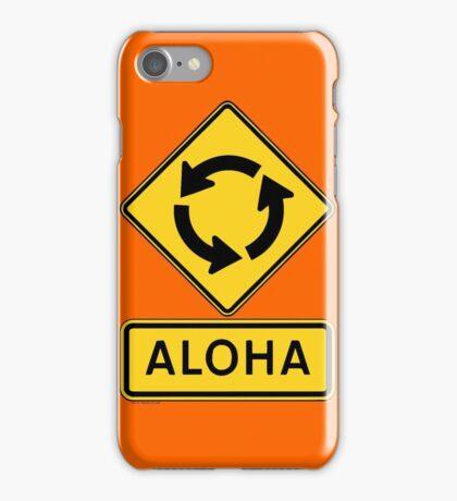 Aloha Circle Sign Design iPhone Case/Skin