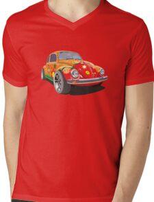 Custom Bug with graffity Mens V-Neck T-Shirt