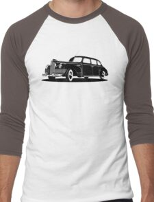 Retro limousine Men's Baseball ¾ T-Shirt