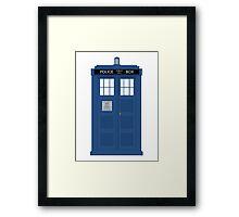 The Doctors TARDIS Framed Print