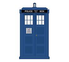 The Doctors TARDIS Photographic Print