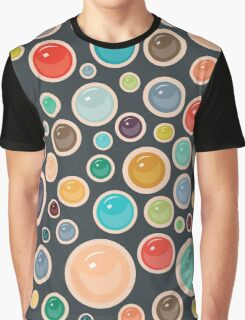 Happy Shiny Droplets Graphic T-Shirt