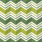 Chevron Stripes - Avocado by daisy-beatrice