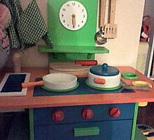 The LittleToy Kitchen by MardiGCalero