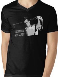 Shooter Mcgavin Funny Golf Shirt Mens V-Neck T-Shirt