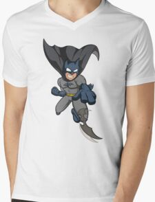 Hero in the dark Mens V-Neck T-Shirt