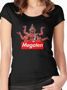 Tenma Asura: Shin Megami Tensei 1 Women's Fitted Scoop T-Shirt