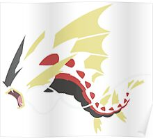 Pokemon: Gyrados (Minimalist) Poster