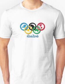 RIO 2016 SUMMER OLYMPICS CUSTOM  Unisex T-Shirt