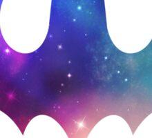 Galaxy Batman Sticker